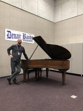 denair piano donation