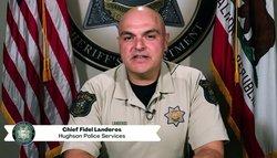 Hughson Police Chief Fidel Landeros