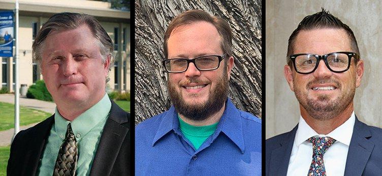 school candidates trio