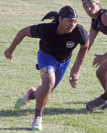 Isaiah Hidalgo practice