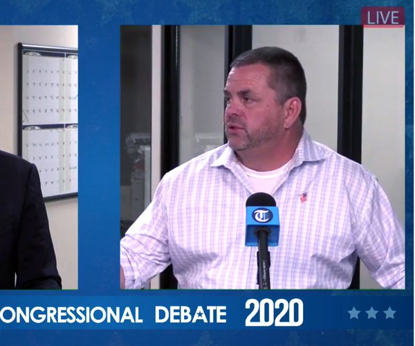 Harder and Howze debate 2020