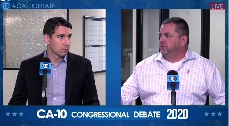 Harder and Howze debate 2020