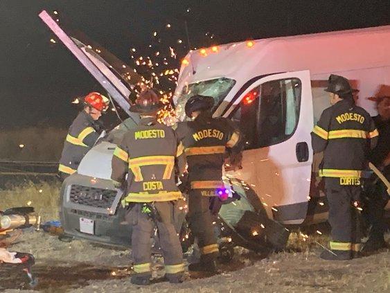 fire calls crash