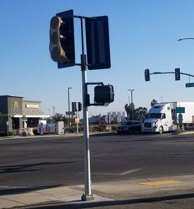 colony traffic signa;s