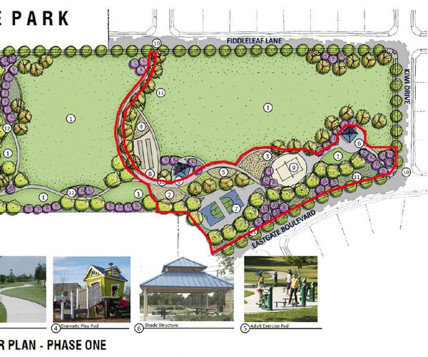 Eastgate park design