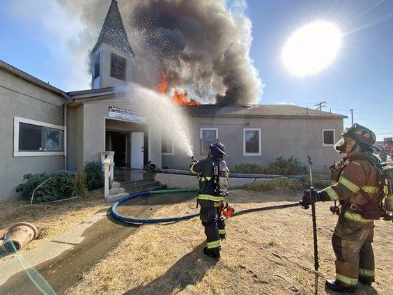 Leo Avenue fire