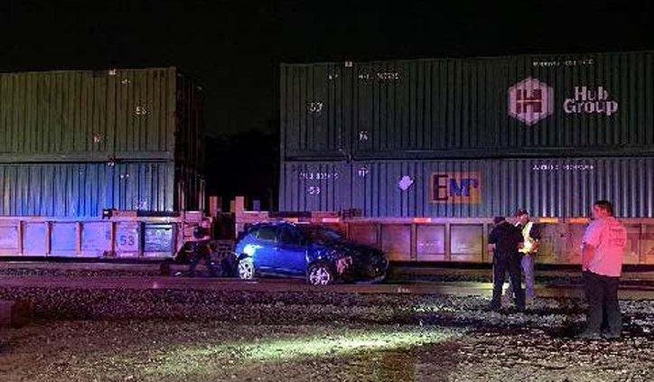 Train versus car