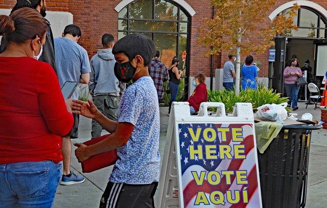 vote line
