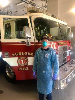 Turlock fire PPE