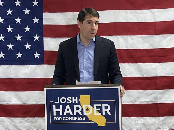Harder election night