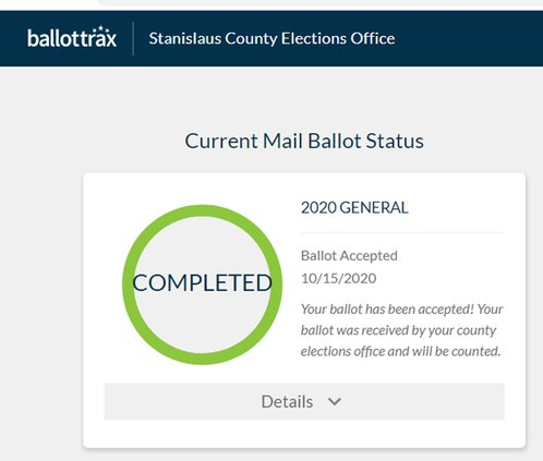 ballot tracking