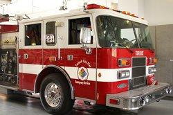 turlock fire truck