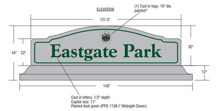 Eastgate sign