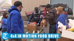 4x4 in motion food drive