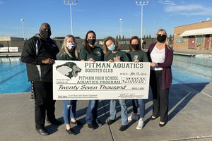 Pitman pool donation