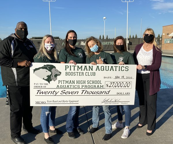Pitman pool donation