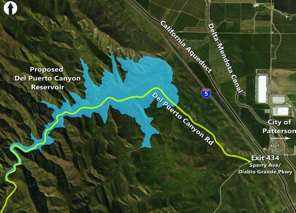 Del Puerto Dam project