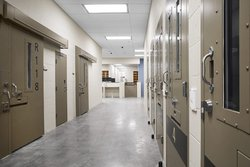 Stanislaus County Jail corridor
