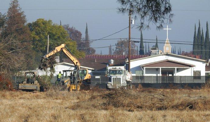Supercenter site work