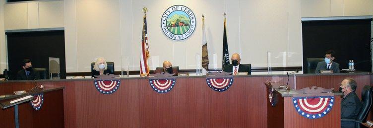 New ceres council