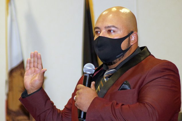 Javier Lopez oath