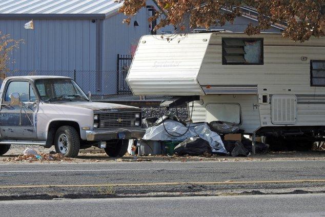 Homeless camp turlock