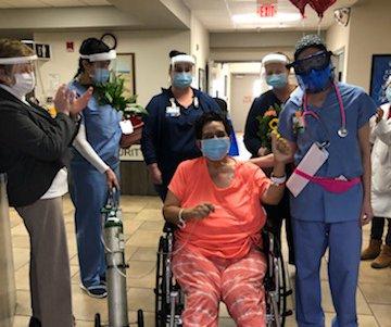 covid EMC patient