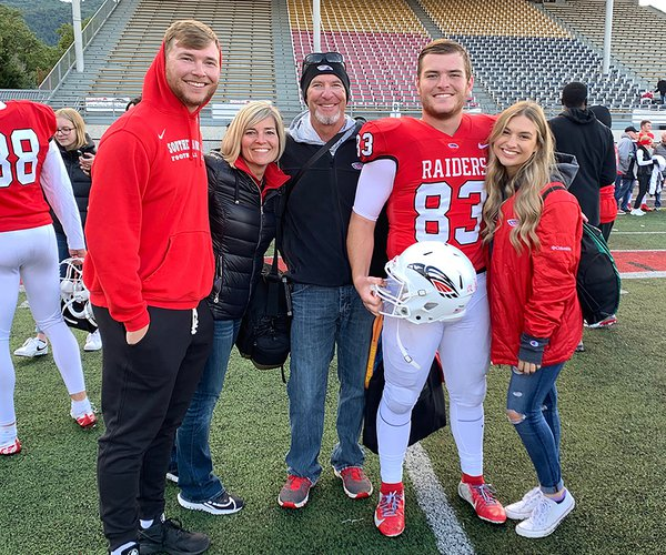 Conner Johnson and fam