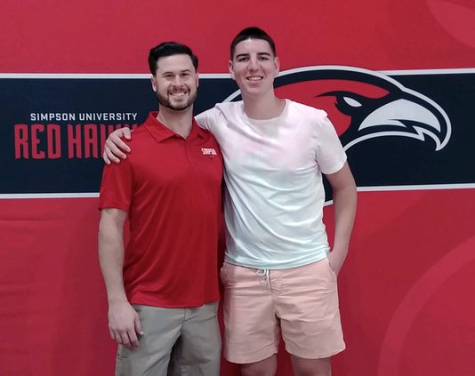Christian Murry and coach
