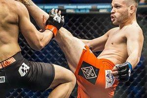 Mike Tubera kicking