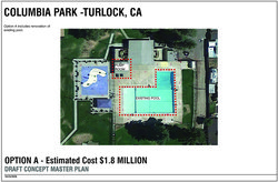 columbia pool project