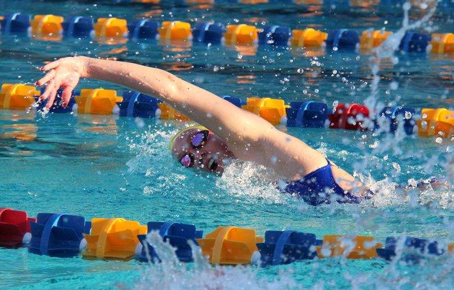 THS girls swim 1