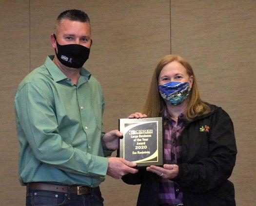 KASE wins award Mike Reynolds