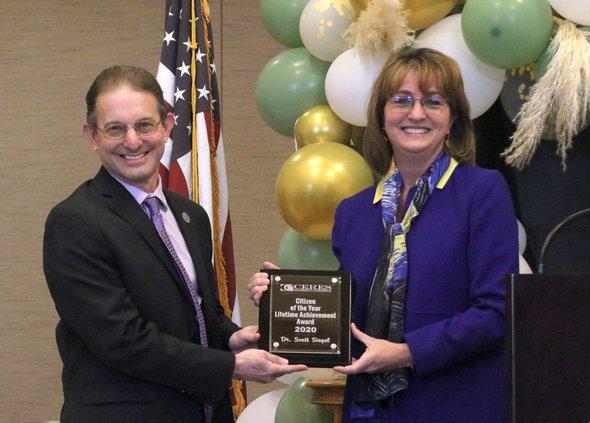 Siegel wins award