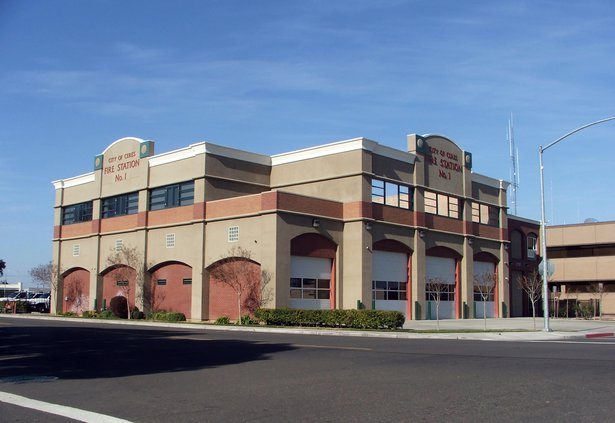 fire station downtown Ceres