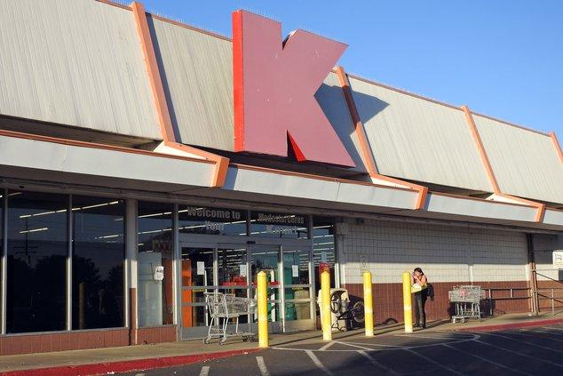 closed Kmart store