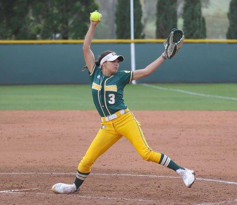 Callie Nunes swings arm