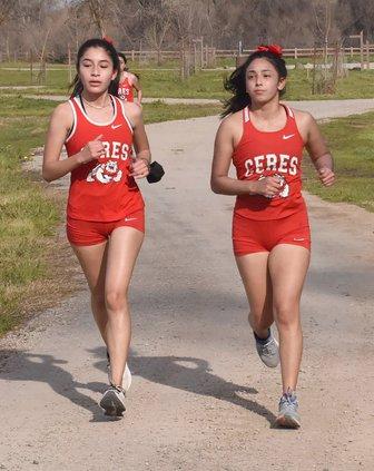 Wendi Lizola and Elizabeth Mercado