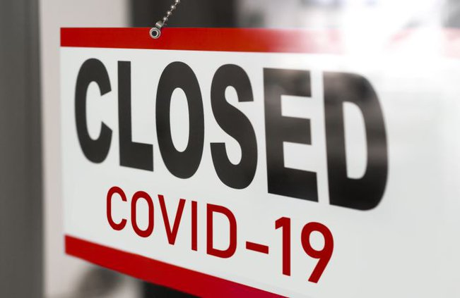 closed by covid