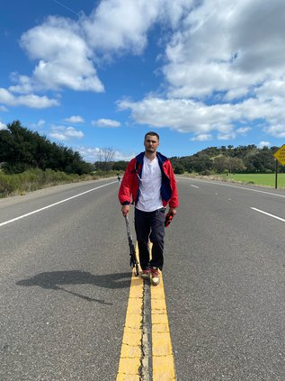 LA to SF walk