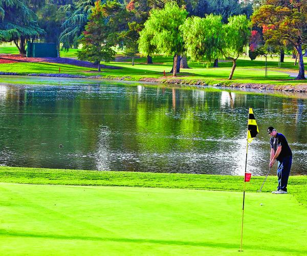 Manteca golf course