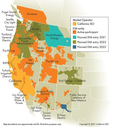 TID energy market map
