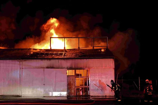 arson fire B street