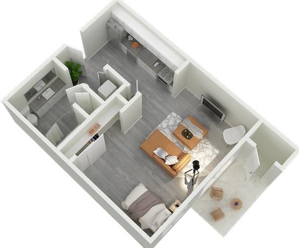 studtio apartment