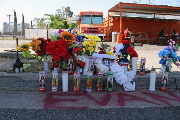 Keyes fatal shooting memorial