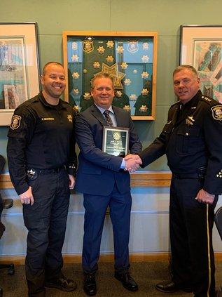 deputy honored