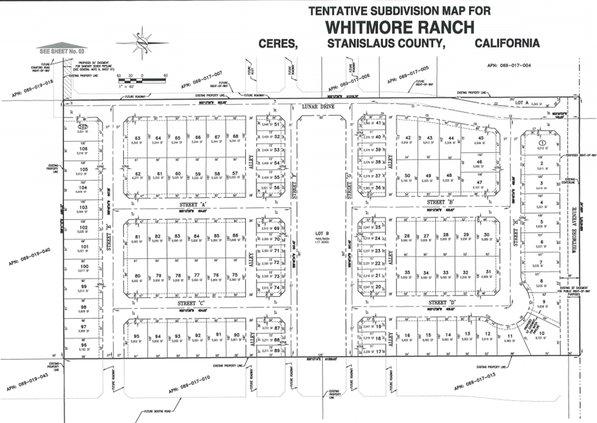 Whitmore Ranch subdivision