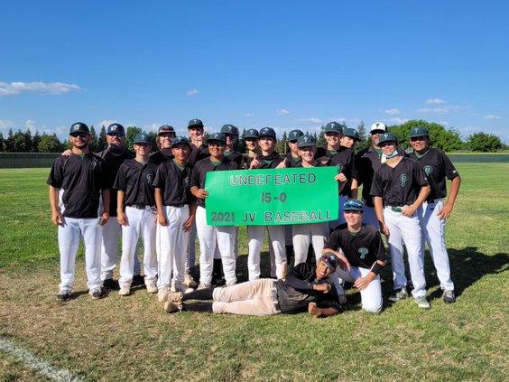 JV Pitman baseball