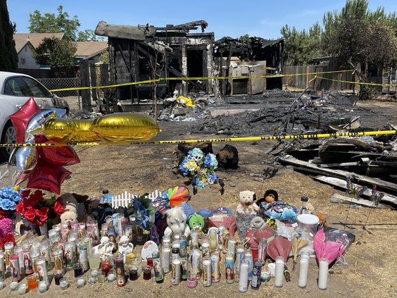 denair house fire
