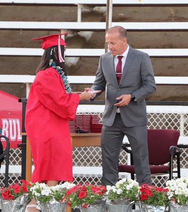 Brian de la Porte diplomas